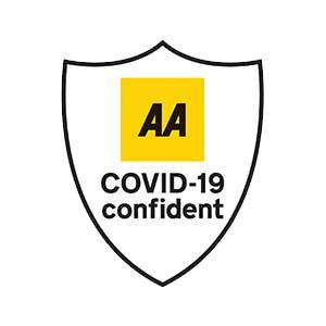 AA Covid Confident Certificate Pecks Restaurant