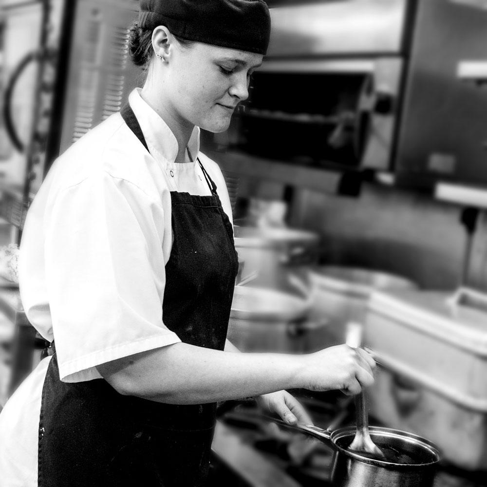 Pecks Restaurant Chloe Leighton Sous Chef