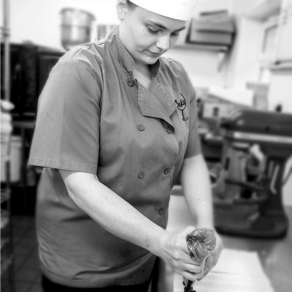 Pecks Restaurant Lucy Podmore Pastry Chef
